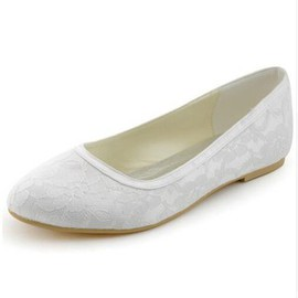 Sommer Formell Flache Schuhe Brautschuhe