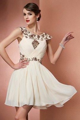 Reißverschluss Prinzessin A-Line Normale Taille Brautjungfernkleid ohne Ärmeln