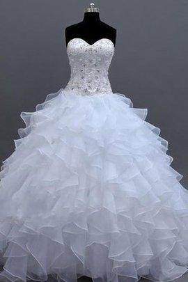 Spitze Meerjungfrau Langärmeliges Sittsames Brautkleid mit Applike