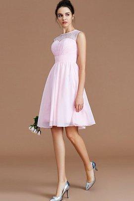 Normale Taille Prinzessin a linie Mini Brautjungfernkleid mit Herz-Ausschnitt