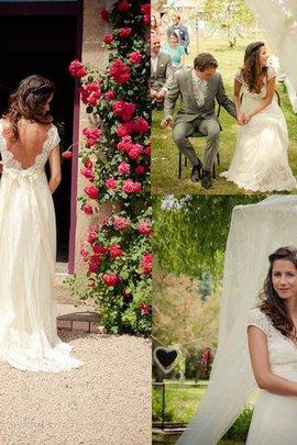 Ärmelloses Perlenbesetztes Prinzessin Tüll A-Line Brautkleid