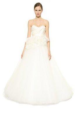 Rückenfreies Ärmelloses Plissiertes Brautkleid mit Schleife mit Gürtel