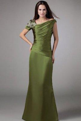 Meerjungfrau Gerüschtes Rocklänge-Asymmetrisches Abendkleid