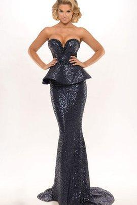 Abendkleid dunkelblau ruckenfrei