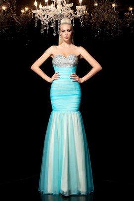 Paillettenbesetztes Paillette Enges Normale Taille Abendkleid mit Herz-Ausschnitt