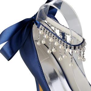 Tatsächliche Absatzhöhe 3.94 Zoll Plattform Luxus High Heels Hochzeitsschuhe E1kOAeqh6N