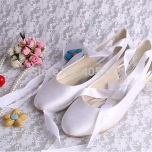 Flache Schuhe Formell Winter Brautschuhe 3meUshi