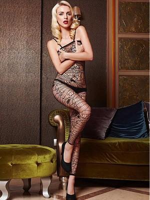 Charmant Transparent Sexy Fischnetz Teddys - Bild 1