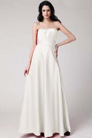 A linie Empire Taille Bodenlanges Anständiges Brautjungfernkleid ohne Träger 7hu9Phrp
