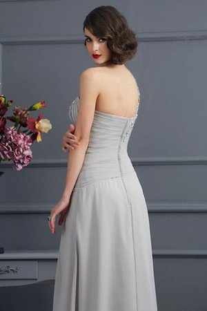 A-Linie Normale Taille Ein Schulterfreies Anständiges Brautmutterkleid mit Applike uDD8CsgtGm