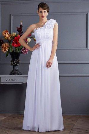 Prinzessin plissiertes A Linie Sittsames Bodenlanges Abendkleid QPeKj