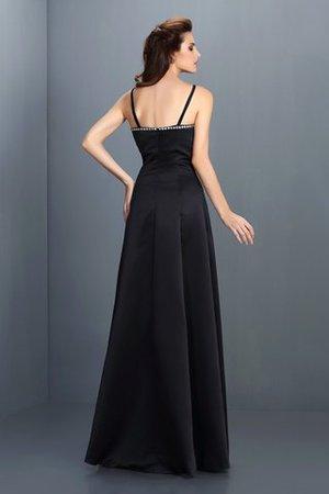 Ärmellos A-Line Spaghetti Träger Prinzessin Abendkleid mit Empire Taille 5YbVMt6OET