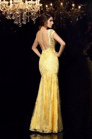 Ärmellos V-Ausschnitt Meerjungfrau Stil Bodenlanges Anständiges Abendkleid i3F7atzndd