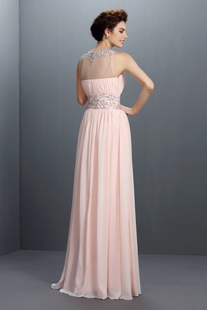 Normale Taille Ärmelloses A Linie Prinzessin Sittsames Ballkleid NGK8E72IP5