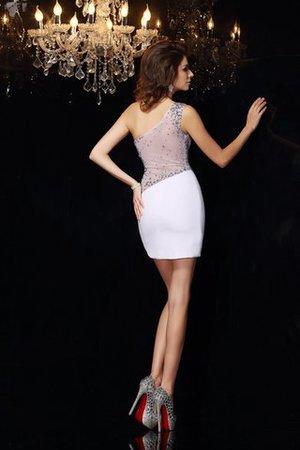 Ein Schulterfreies Normale Taille Enganliegendes Mini Cocktailkleid ohne Ärmeln 4rSkGc6