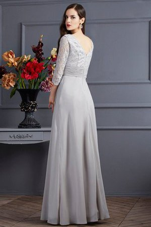 Empire Taille Prinzessin V-Ausschnitt Bodenlanges Anständiges Brautmutterkleid 8gU1I2kJ