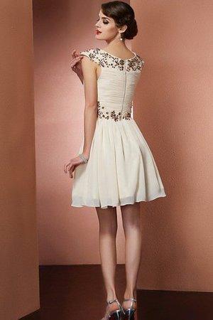 Reißverschluss Prinzessin A-Line Normale Taille Brautjungfernkleid ohne Ärmeln PpJrKa0v