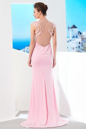 Meerjungfrau Stil Normale Taille kurze Ärmeln Juwel Ausschnitt Abendkleid eKXqkIlKU