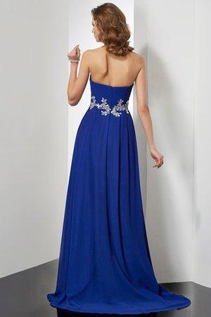 Prinzessin A-Linie Natürliche Taile Sittsames Abendkleid mit Herz-Ausschnitt qx5kwWSIe