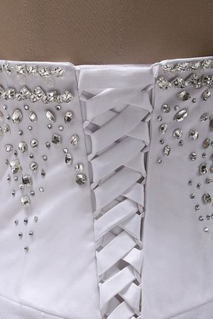 Schön A-Linie Perlen Applike Klassisch Lang Brautkleid x0lQo5