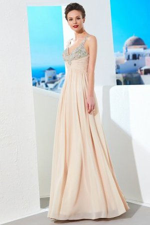 Prinzessin A-Linie Normale Taille Bodenlanges Abendkleid mit Reißverschluss lJMAYJ