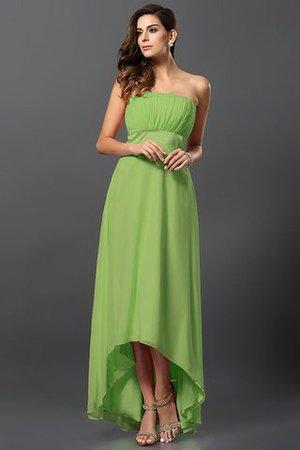 Empire Taille Prinzessin Vorn Kurz Hinten Lang A-Line Brautjungfernkleid aus Chiffon xmqrv5JR
