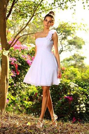 Chiffon Ein Träger Normale Taille Prinzessin a linie Brautjungfernkleid ydvjv9