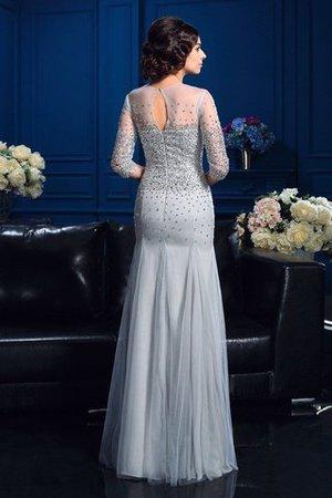 Perlenbesetztes Reißverschluss Etui Schaufel-Ausschnitt Sittsames Brautmutterkleid ECQd8g6Se7