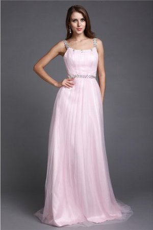 Reißverschluss Prinzessin A-Linie Anständiges Bodenlanges Abendkleid qnHYn