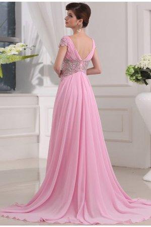 Prinzessin A-Line Reißverschluss Chiffon Sittsames Abendkleid KFvMgqQj