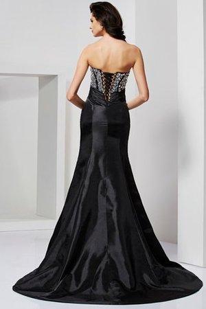 Meerjungfrau Stil Herz-Ausschnitt Drapiertes Anständiges Abendkleid aus Taft ZS6ql1y
