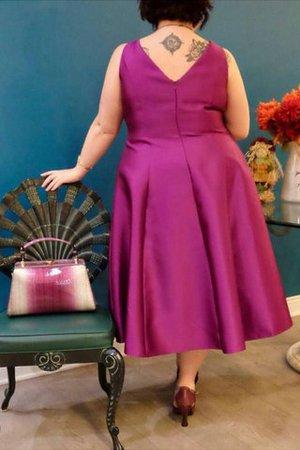 Ärmelloses Normale Taille A-Linie Reißverschluss Prinzessin Ballkleid 1ouuW