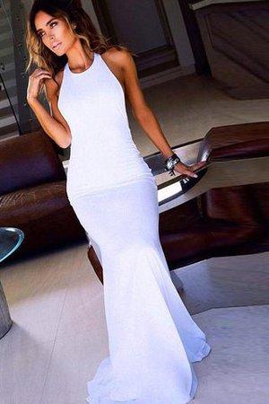 Normale Taille Chiffon Schaufel-Ausschnitt Enges Bodenlanges Abendkleid MP3tQaby0c