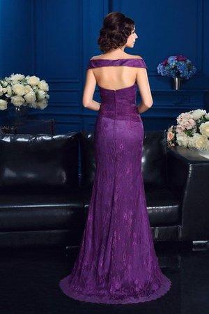 Etui Ärmelloses Normale Taille Reißverschluss Brautmutterkleid mit Bordüre Dl8NVE