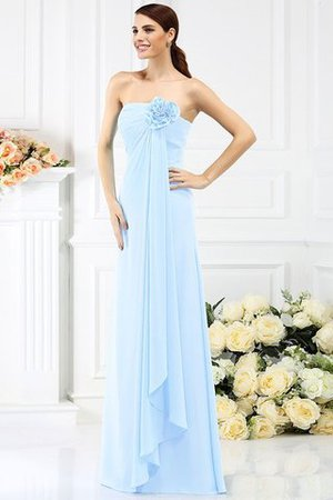 Prinzessin Trägerlos Ärmelloses A-Line Anständiges Brautjungfernkleid Y9OSA2Ysjz
