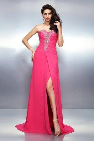Prinzessin Ärmelloses Empire Taille Herz-Ausschnitt Anständiges Abendkleid BAigGyuc
