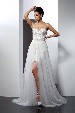 Normale Taille Prinzessin A-Line Anständiges Brautkleid mit Applike 9ItMfEyQ0