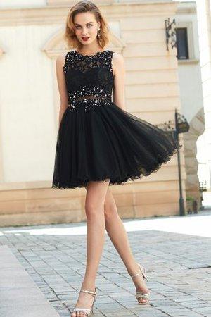 A Linie Normale Taille Prinzessin Mini Cocktailkleid ohne Ärmeln CUjHVSZSDn