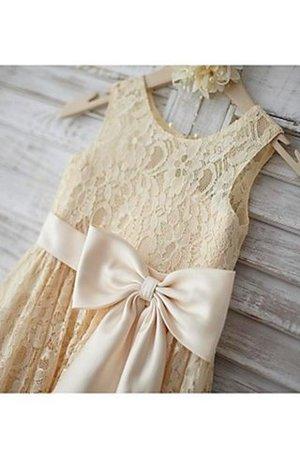 Prinzessin Reißverschluss A-Line Bodenlanges Blumenmädchenkleid mit Blume hYIj7Vn9k
