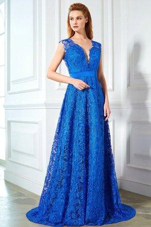 Prinzessin Rückenfreies Ärmellos Schmetterlingsknoten Abendkleid mit Sweep Zug A2q5vFH4ku