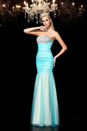 Paillettenbesetztes Paillette Enges Normale Taille Abendkleid mit Herz-Ausschnitt hxPmAzaP8