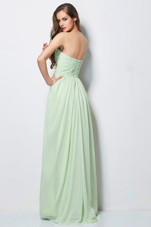 Empire Taille Ärmellos Prinzessin A Linie Abendkleid mit Applikation f4Dtp