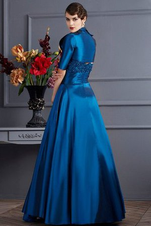 Prinzessin Empire Taille Ärmelloses Herz-Ausschnitt Bodenlanges Brautmutterkleid 2c66NoKg