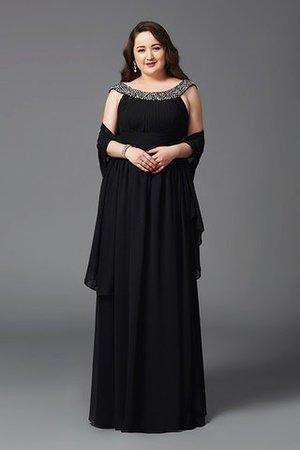 XXL Empire Taille Prinzessin Sittsames Ballkleid ohne Ärmeln XyPo1hsS