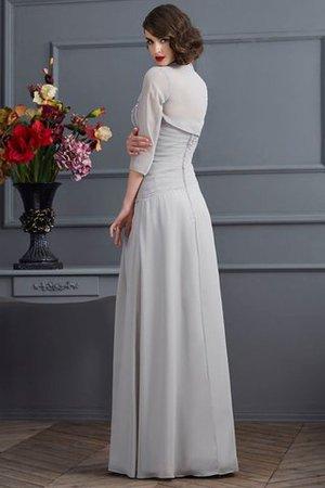 A-Linie Normale Taille Ein Schulterfreies Anständiges Brautmutterkleid mit Applike HNrZDJ