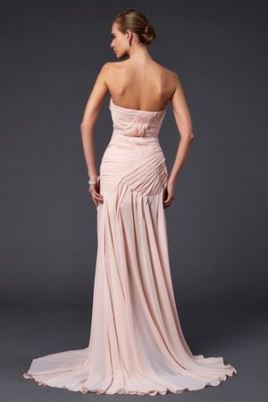 Etui Sweep Zug Natürliche Taile Herz-Ausschnitt Abendkleid mit Drapierung C2oDIMJJ6