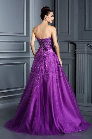 Duchesse-Linie Satin Bodenlanges Partykleid ohne Ärmeln mit Rücken Schnürung tNEimsH6W