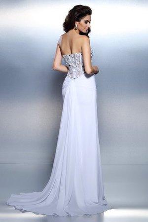 Herz-Ausschnitt plissiertes Sittsames Abendkleid aus Chiffon mit Drapierung usQkMW5Ybn