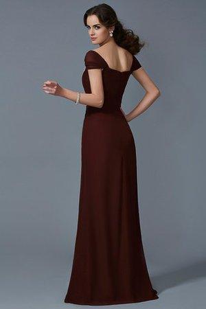 A-Linie Reißverschluss Normale Taille trägerlos Prinzessin Abendkleid VxLVmU5