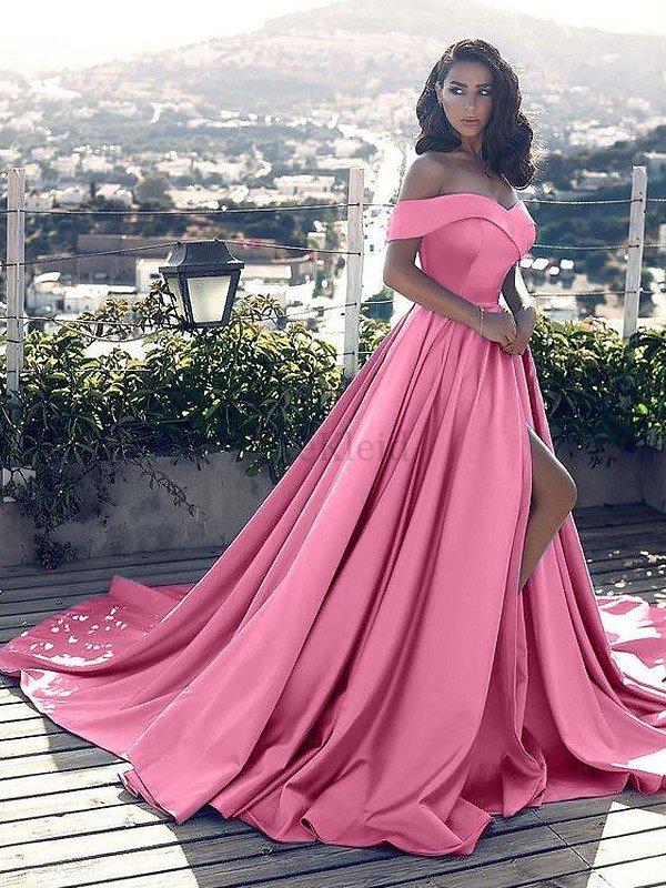 Prinzessin A-Linie Ärmellos Natürliche Taile Abendkleid mit ...